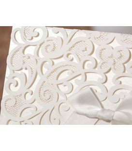 Faire-part arabesque luxe